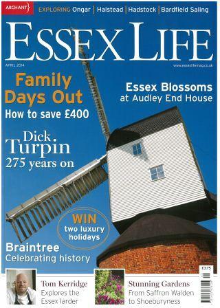 Essex Life April paint