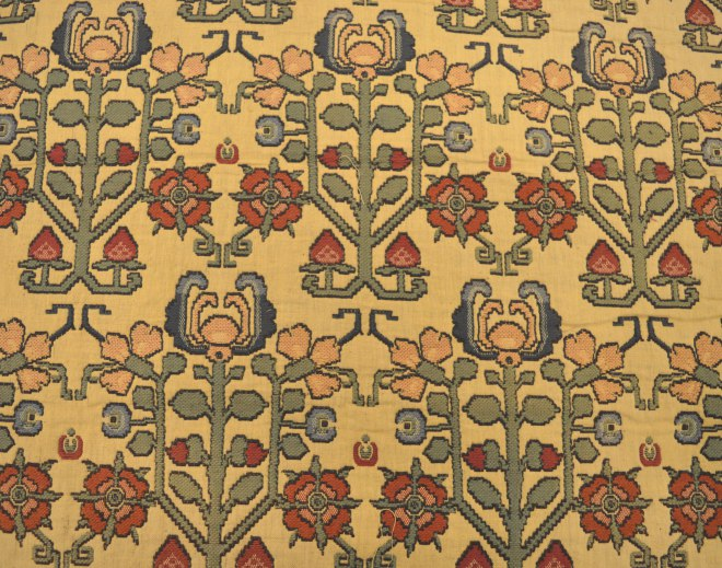 Tapestry, power woven fabric from the 1920s, early 1930s by Warner & Sons - design taken from Tudor needlework