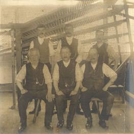 Weavers at Braintree mill