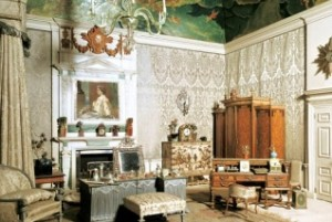 Queens Bedroom - Bologna fabric by Gainsborough