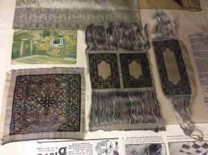 hand woven silk rug by Gainsborough Silk
